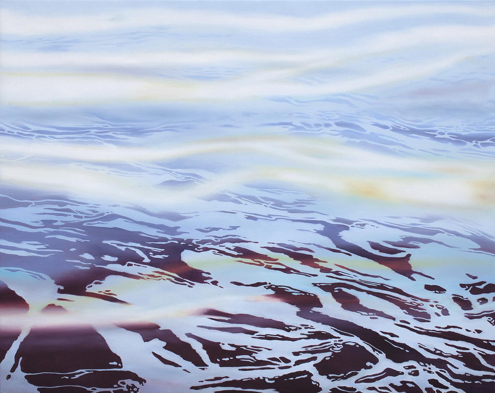 Fernsicht 2013, 120 x 150 cm, Öl auf Leinwand  Clear View 2013