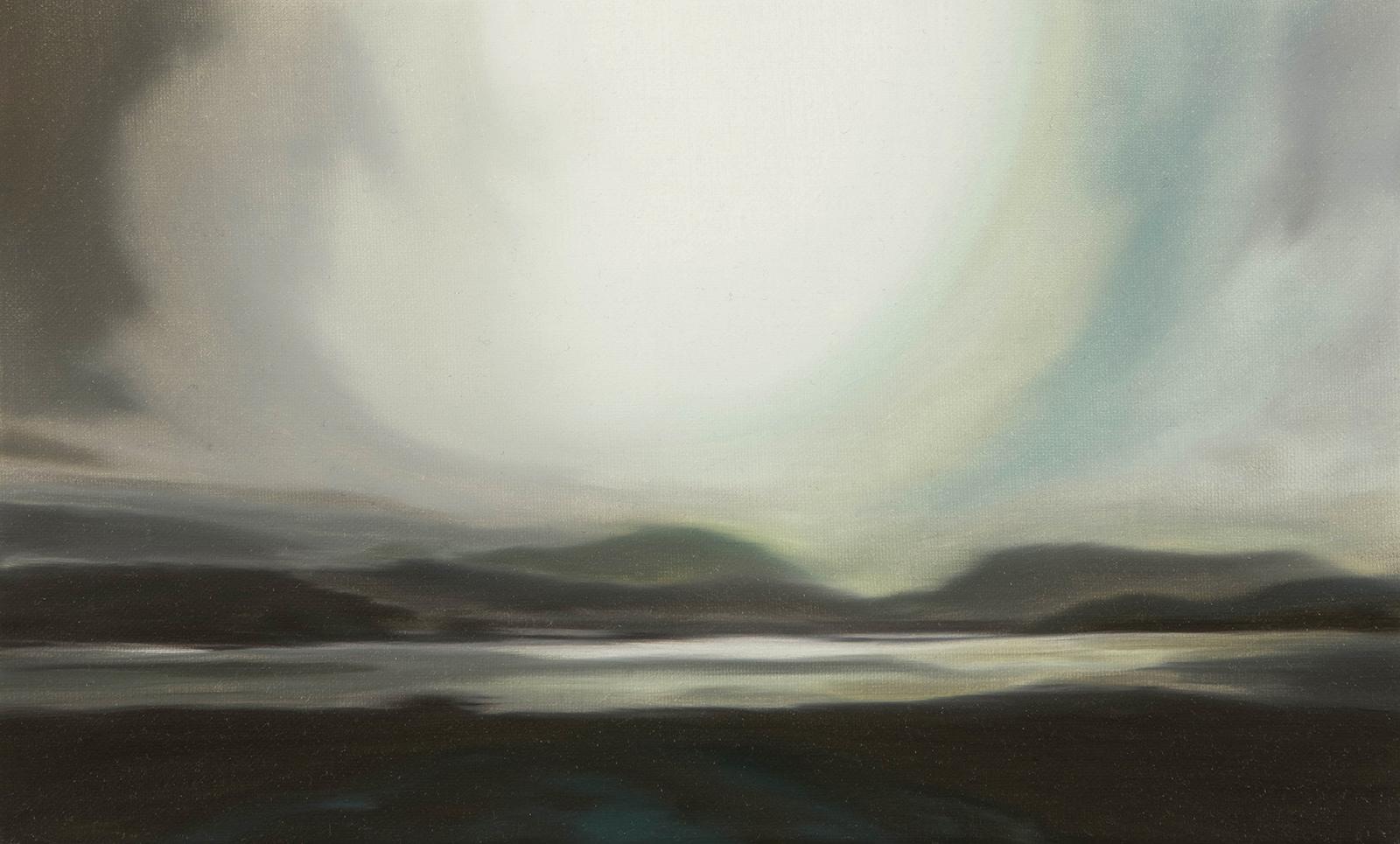 Orkney Inseln 2007, 20 x 33 cm, Öl auf Leinwand  Orkney Islands 2007, oil on canvas