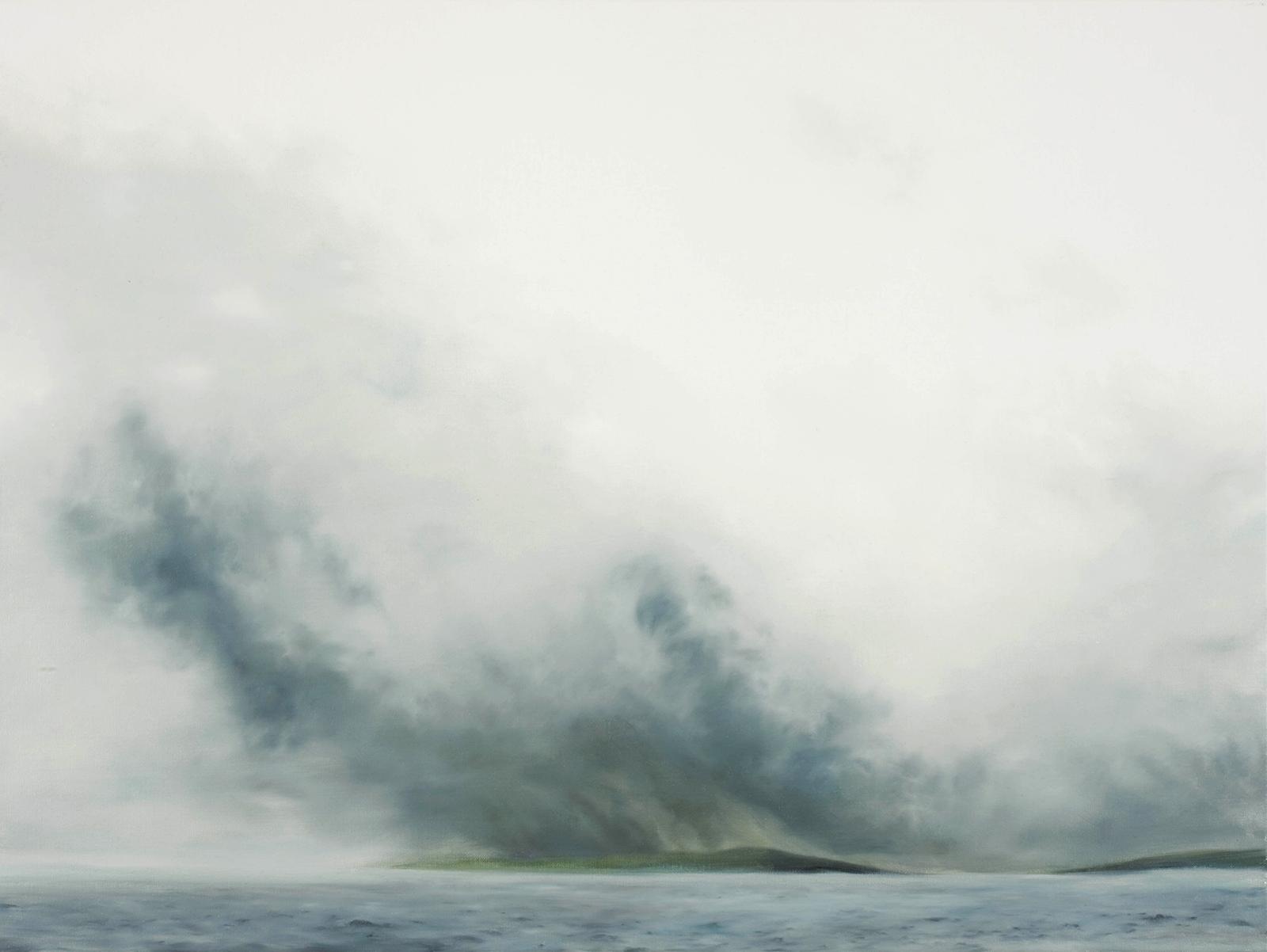 Nordland 2007, 62 x 83 cm, Öl auf Leinwand  Nordland 2007, oil on canvas