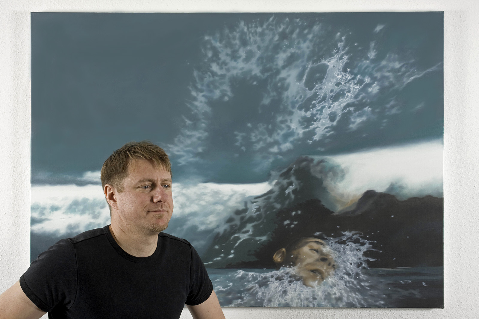 Painting, Malerei Martin Jagodzinski
